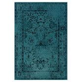 Found it at AllModern - Austin Hand-Woven Teal Area Rug