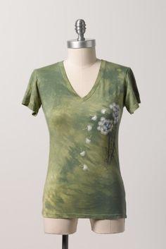 Zavella organic bamboo make a wish short sleeve top