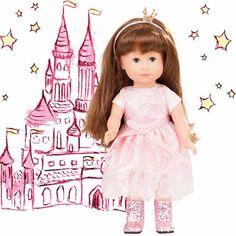 Κούκλα Πριγκίπισσα Chloe Gotz 27 cm Serif Font, Sans Serif, Girls Dresses, Flower Girl Dresses, Chloe, Font Family, Wedding Dresses, Dolls