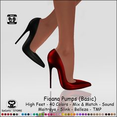 SaCaYa - STORE: NEW: SaCaYa - Fioana Pumps (Basic)
