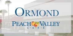Serving breakfast and lunch, the Peach Valley Café is a great way to start your day in Ormond Beach!