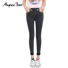 Ankle-Length Cuffs Black Skinny Jeans //Price: $24.00 & FREE Shipping //    #stylish #styles #man