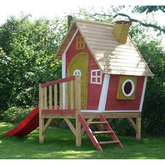 Garden Games Crooked Tower Play House