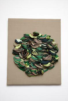 Wall panel, Ruth Singer, 2008.