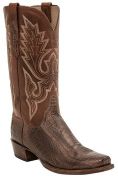 georgetowncowboyboots - Lucchese Heritage Mens Anson Chocolate Matte Burnished Ostrich Leg H1008, $759.95 (http://www.georgetowncowboyboots.com/lucchese-heritage-mens-anson-chocolate-matte-burnished-ostrich-leg-h1008/)