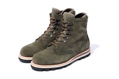 Stussy Deluxe x BePositive Mountain Boots