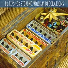 10 tips for storing holiday decorations from Babble.com