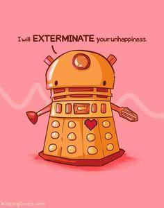 Cute Dalek! :)