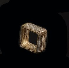 Square Netline Ring. Gold Price: $ 1,674.00 Shipping Time: within 14-16 business days. https://jewelryfromisrael.com/hella-ganor/
