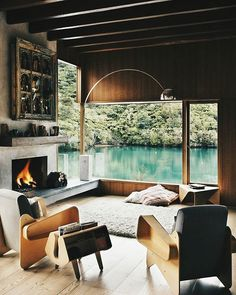 Check @bossthings_ | #allnetwork #allofarchitecture | Waterfall Bay House by Bossley Architect's