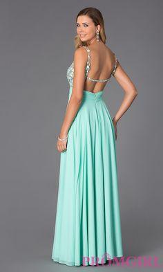 Image of V-Neck Open Back Dress Alyce AL-35697 Style: AL-35697 Front Image