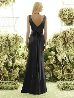 After Six Bridesmaid Style 6550 http://www.dessy.com/dresses/bridesmaid/6550/?color=black=123#.UewGQWS9LTo