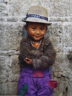 Neematashi, Tibet / portraits / faces of the world / extreme cuteness