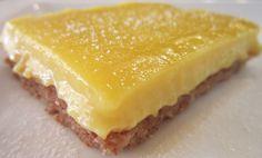 Gluten Free Lemon Bar