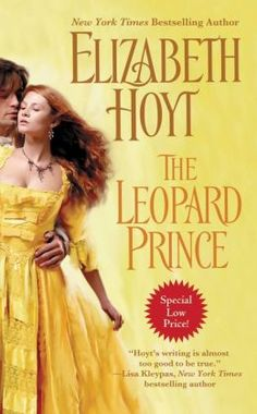 The Leopard Prince by  Elizabeth Hoyt. . . I just re-read this over the weekend and it was just as good the third time around.  Gotta love the hero with the most unfortunate name ever, lol.