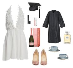 Anastasia Steele - Graduation by ohmyfifty on Polyvore featuring Christian Louboutin, Christian Dior and Chanel