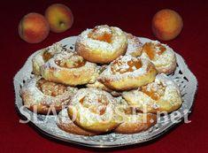 Croissantové koláče s tvarohem