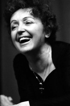 Beautiful image of Edith Piaf