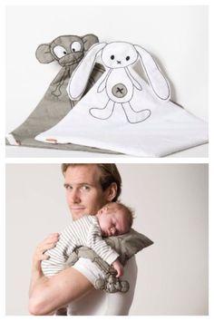 Juguetes de tela hechos a mano para bebés, Qukel http://www.minimoda.es