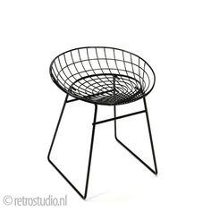 Pastoe Wire-serie kruk ontwerp Cees Braakman