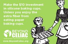 Make the $10 investment in silicone baking cups.