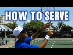 Tennis Lessons - How To Serve In Tennis by TomAveryTennis.com - YouTube, how to, hobby, recreation, tennis, serve