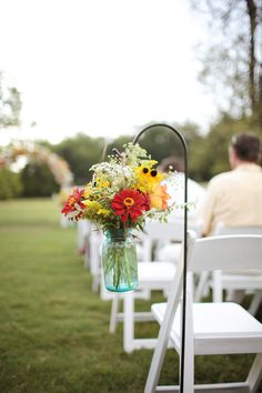 Love the Mason Jars! #LillyPulitzer #SouthernWeddings
