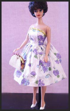 Vintage Barbie - Bubblecut Barbie - brunette