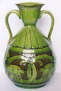 Hazell Vase, Farnham Pottery