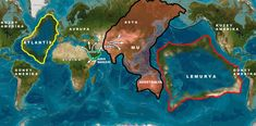 Ancient Civilizations: The Theories of Atlantis and Lemuria – Fractal Enlightenment Atlantis, Ancient Aliens, Ancient History, Ancient Map, Monte Shasta, Sunken City, Fantasy Map, Alternate History, Lost City