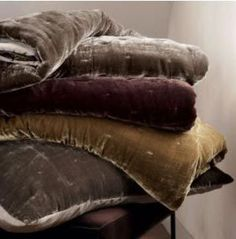 Velvet Bedding