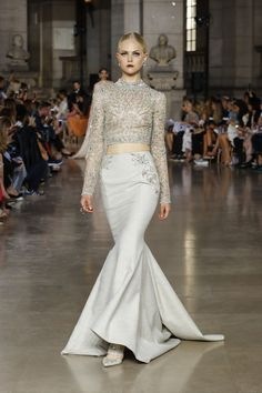 Georges Hobeika | Haute Couture Fall-Winter 2017-18 | Look 33