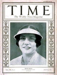 Helen Wills, July 26, 1926.  #tennis