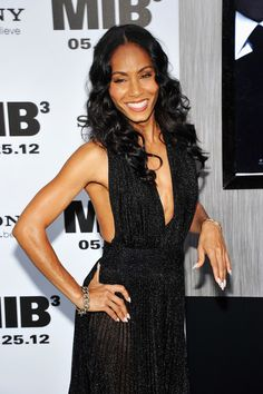 Jada Pinkett Smith Long Curls