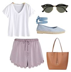 """Untitled #20"" by amjones17 on Polyvore featuring H&M, Jigsaw and Ray-Ban"