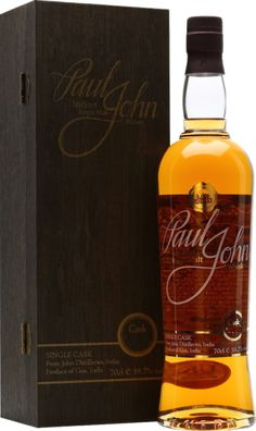 Every now and then Paul John bottles a single cask expression. This non-peated cask was selected by the Dutch importer Bresser & Timmer and Jock Shaw and is exclusively bottled for the Dutch market. The whisky is matured in barrel number #570, made of American oak. It is un-chill filtered and bottled with a natural color on a cask strength of 58.0%. This is an excellent John Paul... #pauljohn