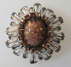 Schreiner New York Exquisite Ruffle Brooch | eBay