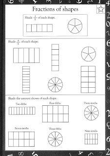 Free printable maths worksheets Maths Worksheets For kids Fractions Worksheets Ks2, Year 2 Maths Worksheets, Fractions For Kids, Ks2 Maths, Free Printable Math Worksheets, Math Fractions, Math For Kids, Addition Worksheets, Free Fraction Worksheets