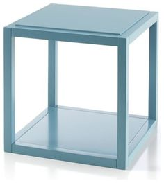Ditto Pacific Cube contemporary side tables and accent tables