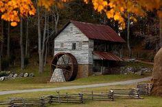 olde mill | OLD MILLS & WATER WHEELS | Pinterest