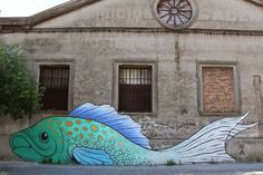 Street art in Uruguay by Alfalfa aka Nicolas Sanchez | great urban artists, street art online, urban art, graffiti art
