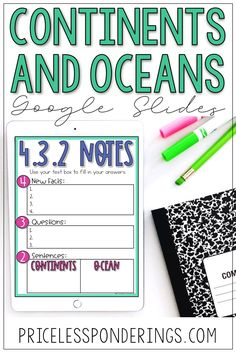 Continents and oceans will come to life in your class with these fun distance learning activities for kids. These are perfect for 3rd and 4th grade kids.