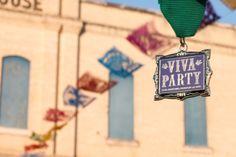 San Antonio Museum of Art's 2014 Fiesta medal from their Viva Party
