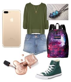 """Spring!!! #3"" by sydnaiqueenz on Polyvore featuring J Brand, WearAll, Converse and JanSport"