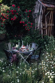 Elderflower Strawberry Ice Cream Cake & a new furniture from Fil de Fer