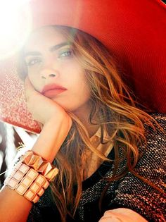 Cara Delevingne Reserved S/S 2013 Campaign