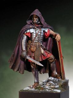 New Unassembled Roman Legionary ancient Dacian Wars with base Ancient Rome, Ancient History, Roman Armor, Roman Warriors, Roman Legion, Empire Romain, Landsknecht, Roman Soldiers, Military Figures