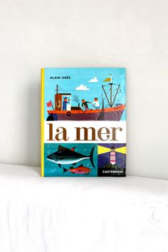 La Mer by Alain Gree  Vintage French children book by PourToujours, $26.00