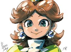 Mario Kart 8, Mario Bros, Princesa Daisy, Luigi And Daisy, Daisy Art, Super Mario Brothers, Video Game Characters, Tomboy, Princesses