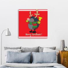Discover «Rud the rednose hedgehog!», Numbered Edition Canvas Print by Igor Karpov - From $49 - Curioos